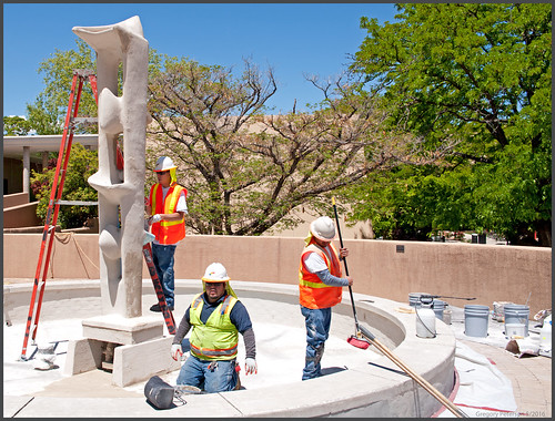 Fixing the Fountain at UNM
