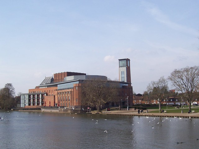 Royal Shakespeare Centre, Stratford Upon Avon, Warwickshire, Feb 2016