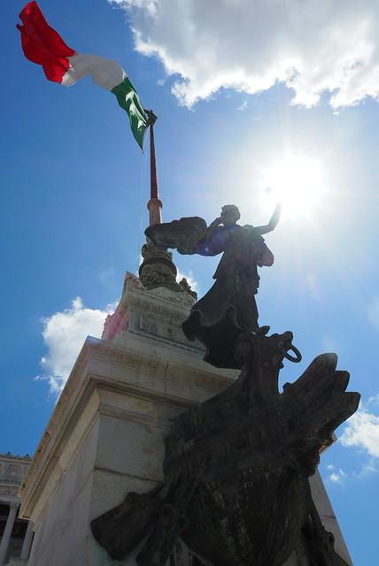 Flag of  Rome