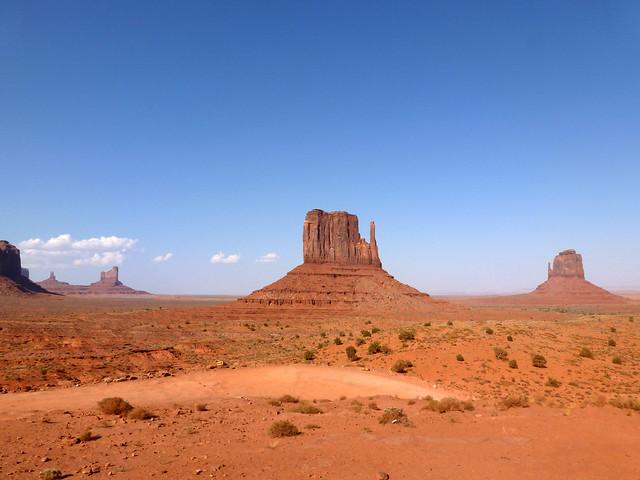 The Mittens, Monument Valley Navajo Tribal Park - Navajo Nation, Arizona