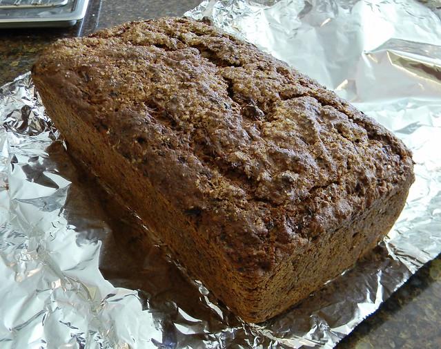 Spicy Flax Zucchini Bread