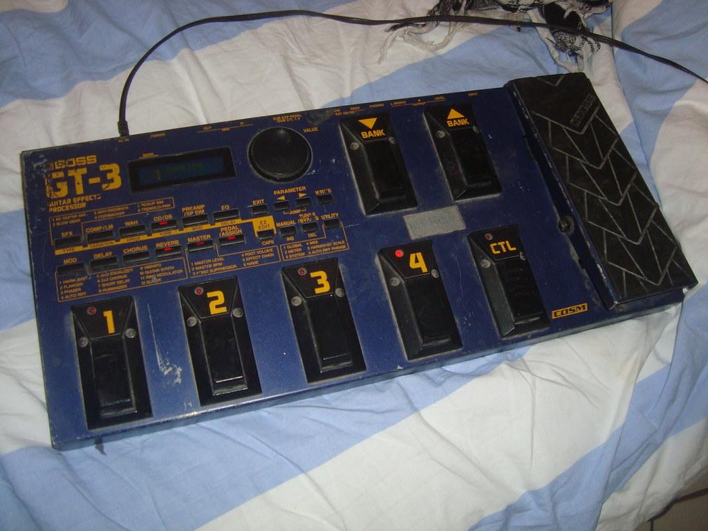 Boss GT-3 (effect processor)