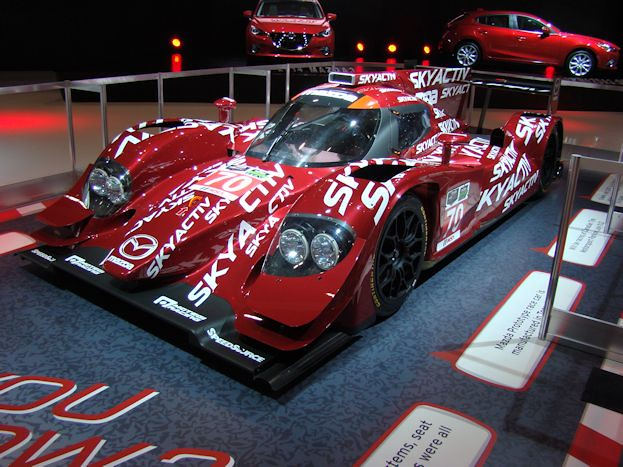 Mazda SkyActiv Prototype Race Car