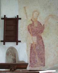 St James above the pulpit