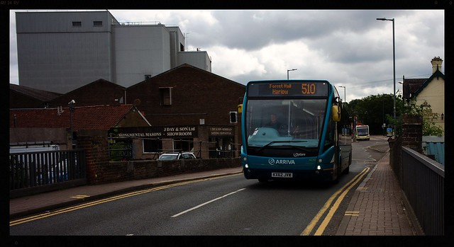 Bus of the Day: Arriva Bus KX62 JVW