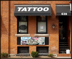 Beaubien Street: Tattoo Parlor--Detroit Mi