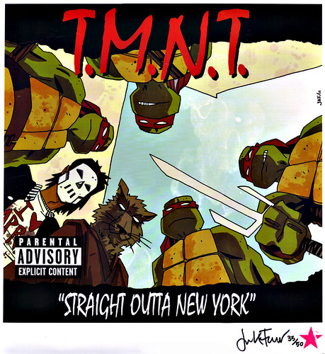 "T.M.N.T.: ""STRAIGHT OUTTA NEW YORK"" // ..print 35/50 (( 2011 )) by tOkKa"