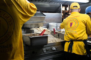 The Halal Guys Making Chicken and Rice   by City Foodsters
