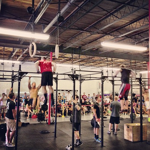 CFEC guys killing some bar muscle ups in Heat 2.