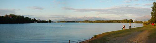 panorama alaska ak knik wasilla