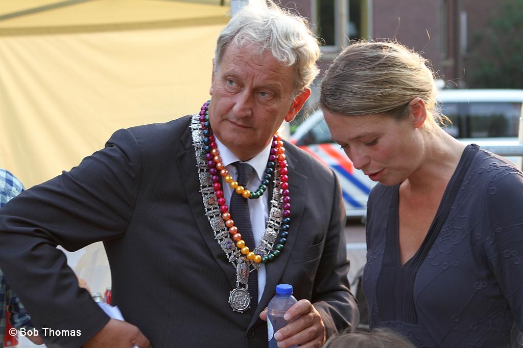 Eberhard van der Laan met zijn vrouw Femke bij het From R