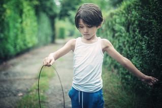 Boy and circle | by Philippe Put
