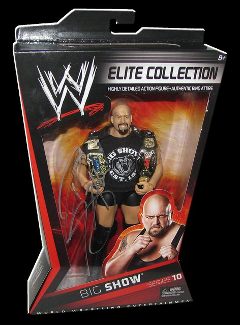 Big Show Autographed Mattel WWE ELITE COLLECTION Series 10 Figure
