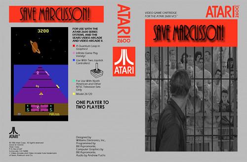 Save Marcusson! (Atari 2600)