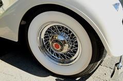 Ballston Spa Car Show: Packard Whitewall