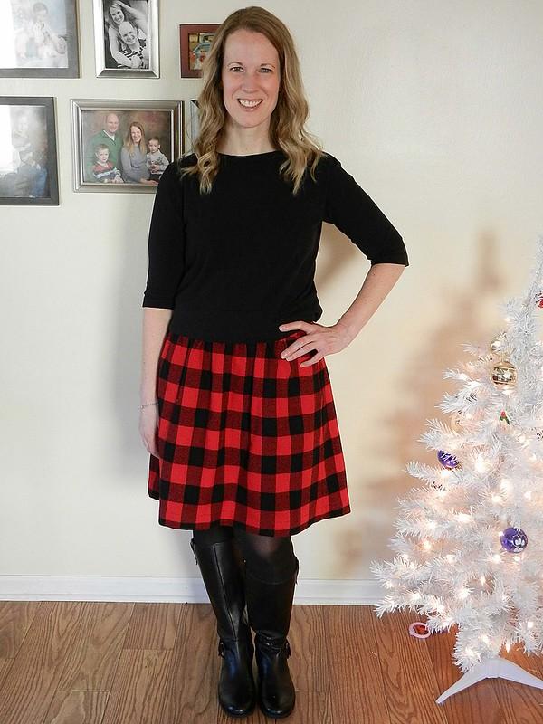 Buffalo Plaid Everyday Skirt 3.1