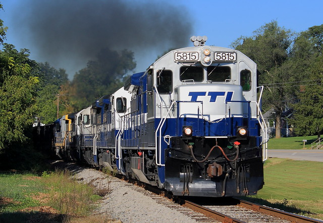 TTI 5815 (GE B36-7) Cowan, Kentucky