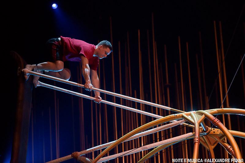 Ensaios - Cirque du Soleil Varekai MEO Arena '17