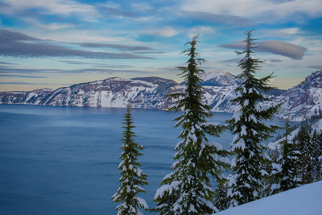 Winter@Crater Lake National Park