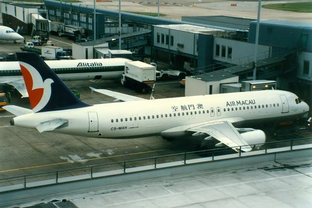 Air Macau   Airbus A320-200   CS-MAH   London Heathrow