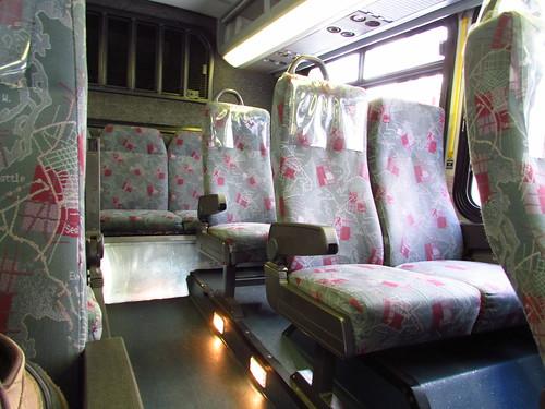 Sound Transit 2001 Gillig Phantom Interior  9071k