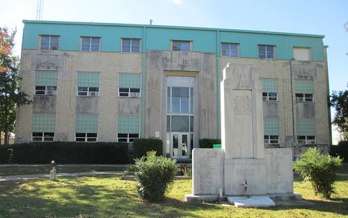 oklahoma ok courthouses countycourthouses usccokhaskell haskellcounty stigler waltertvahlberg northamerica unitedstates us