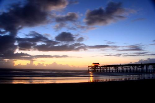 ocean blue sky beach beauty night clouds sunrise canon florida boardwalk capecanaveral untouched cocoabeach 60d perfectsunsetssunrisesandskys skyascanvas jwphotos welshjj smilinghorsephotography