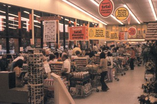 Alpha Beta No. 126, Brookhurst and Hamilton, Huntington Beach, Nov. 1972 | by Orange County Archives