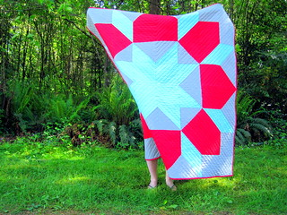 Giant Star of Bethlehem/Swoon Block Quilt