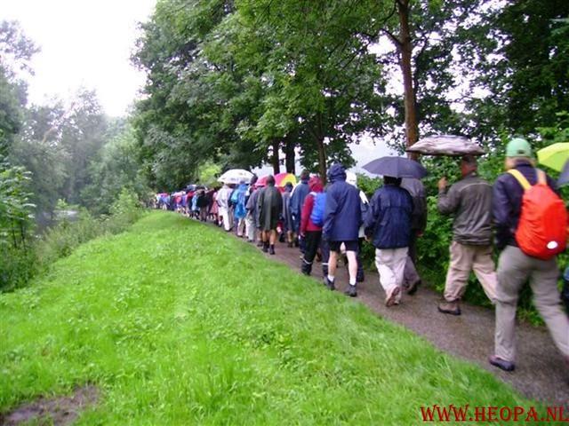 2e dag  Amersfoort 42 km 23-06-2007