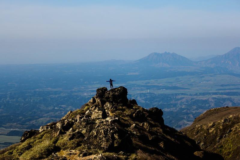 九重山 登山