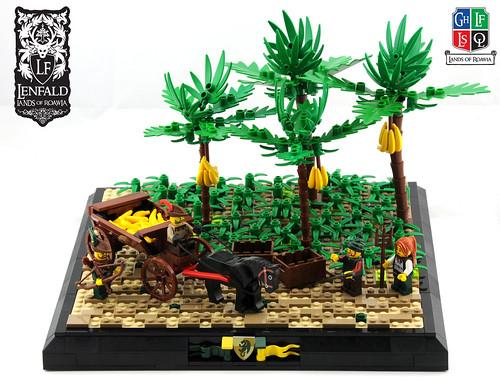 Banana Plantation - LoR   by Ayrlego