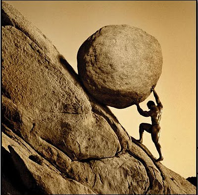Sisyphus | by Gerard Van der Leun
