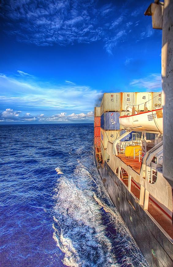 XBT cruise- heading to Hawaii aboard the MV Horizon Spirit