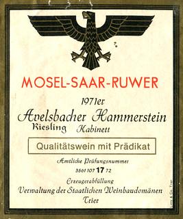 Avelsbacher Hammerstein 1971 (Mosel)