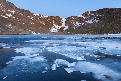 morning blue favorite mountains ice sunrise colorado unitedstates lakes evergreen waterscapes arapahonationalforest mountevansscenicbyway