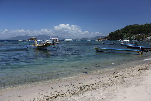 travel beach philippines diving sabang puertagalera