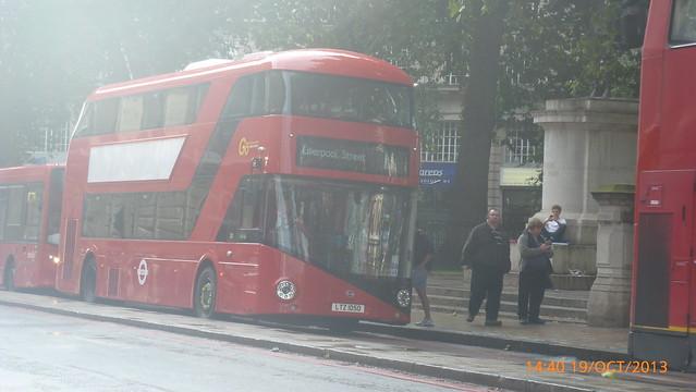 P1170626 LT50 LTZ 1050 at Grosvenor Gardens Buckingham Palace Road Victoria London
