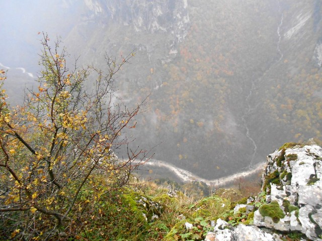Misty View of the Vikos Gorge