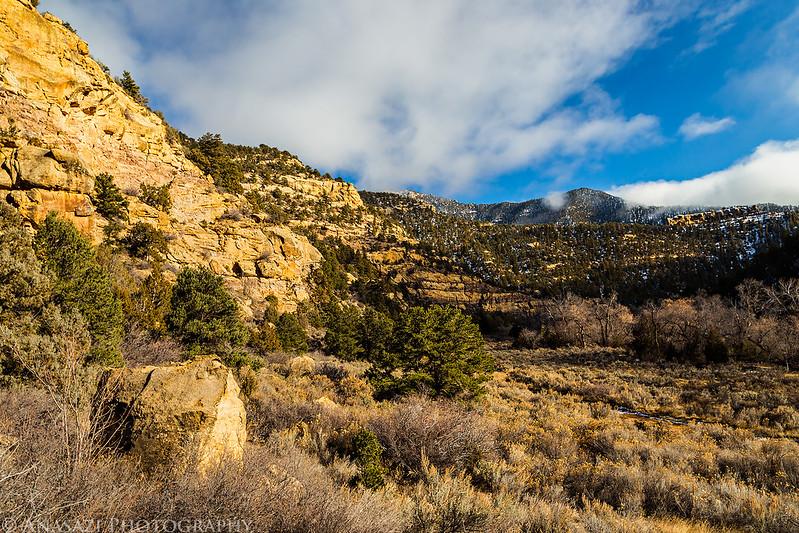 Range Creek Clouds