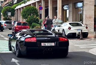 Ferrari F12 Berlinetta & Lamborghini Murcielago by DMC