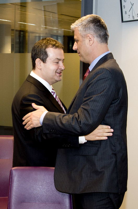 Prime Minister Dačić and Prime Minister Thaçi
