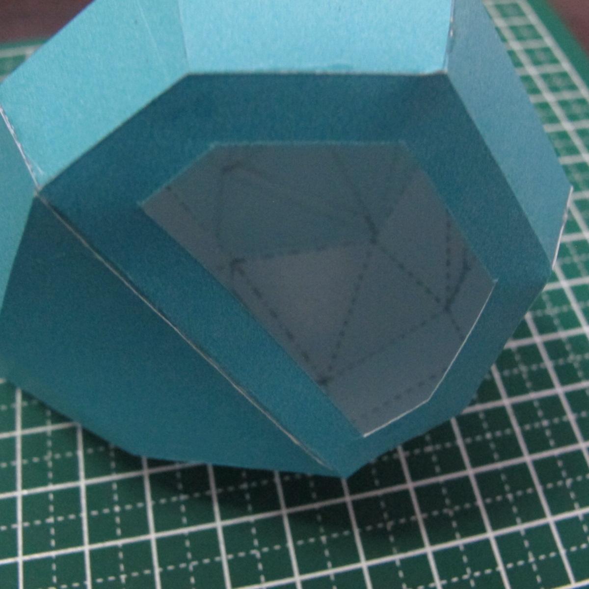 วิธีทำของเล่นโมเดลกระดาษรูปนก (Bird Paper craft ) 023