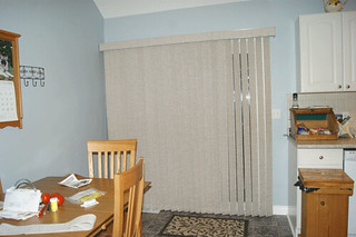 Vertical Blinds with Deluxe Valance
