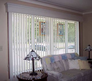 Vertical Blinds & Utopia Valance