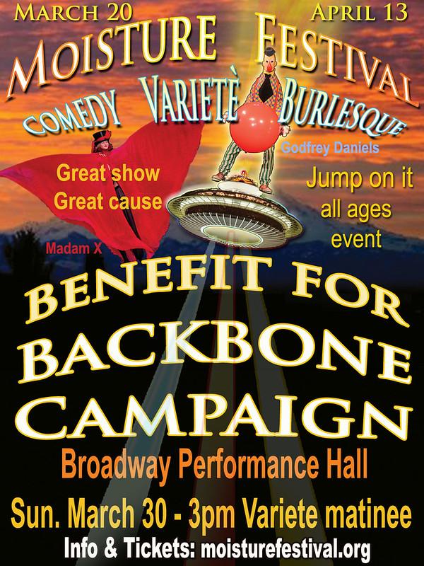 Moisture Fest Benefit for Backbone