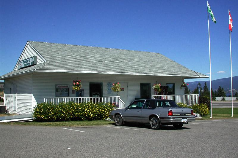 Westbank Visitor Centre, Westbank, Okanagan Valley, British Columbia, Canada