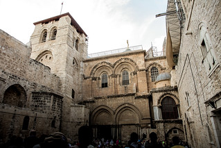 Church of the Holy Sepulchre - the holiest Church in all of Christianity, built on Golgata, the spot where Jesus was crucified.  Jerusalem 2013. | by eriktorner