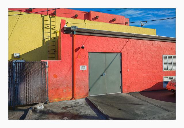 Rear Doors - San Jose, Ca.