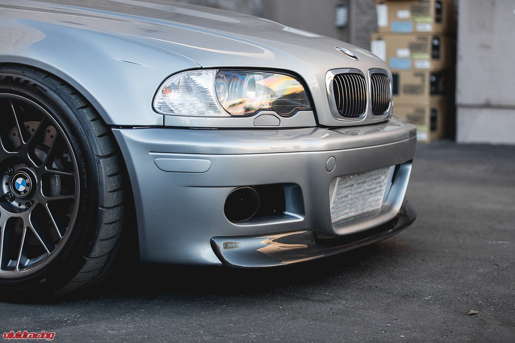 Status Gruppe Csl Style Front Lip Installed On Bmw E46 M3 Flickr